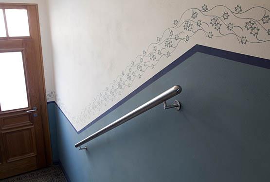 wand gestalten mit stoff alles ber wohndesign und m belideen. Black Bedroom Furniture Sets. Home Design Ideas