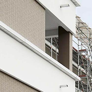 Ideen und beispielbilder f r gemusterte au enfassaden wand im au enbereich mit muster - Aussenwand gestalten ...