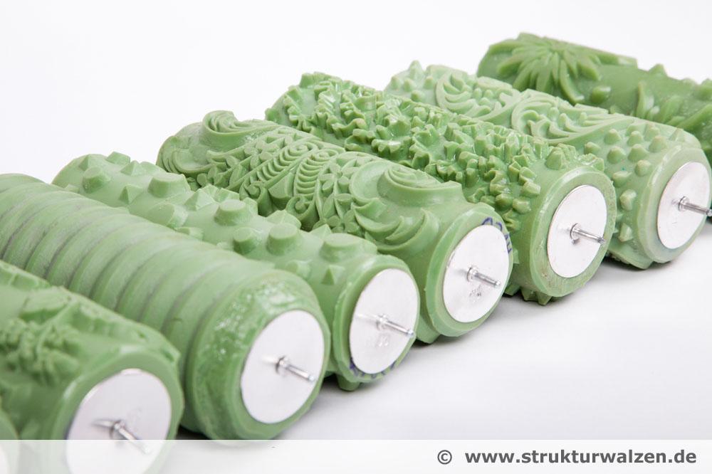 Musterwalze, so wird der Tapeten Roller für die Dekomalerei als Tapetenmuster eigentlich genannt
