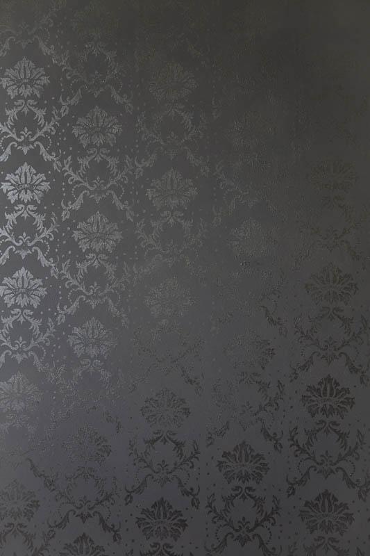 mit musterwalzen in schwarz wei gestalten schwarz wei e. Black Bedroom Furniture Sets. Home Design Ideas