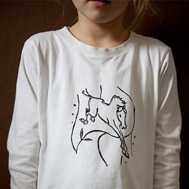 T-Shirt selbst mit Muster, Schablone und Stempel bedrucken - DIY ...