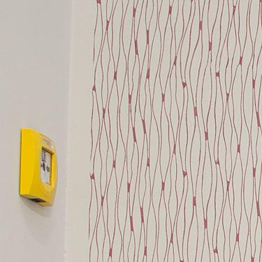 rollmuster auf putz bzw verputzte wand als untergrund. Black Bedroom Furniture Sets. Home Design Ideas