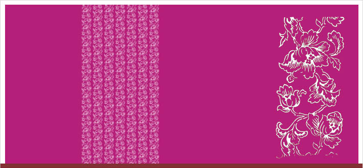 Wandentwurf mit muster im jugendstil jugendstilelemente f r wandgestaltung - Farben im jugendstil ...